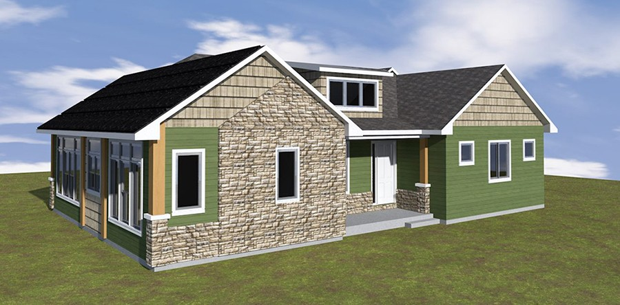 Zero Net Energy. Custom Home Design ...