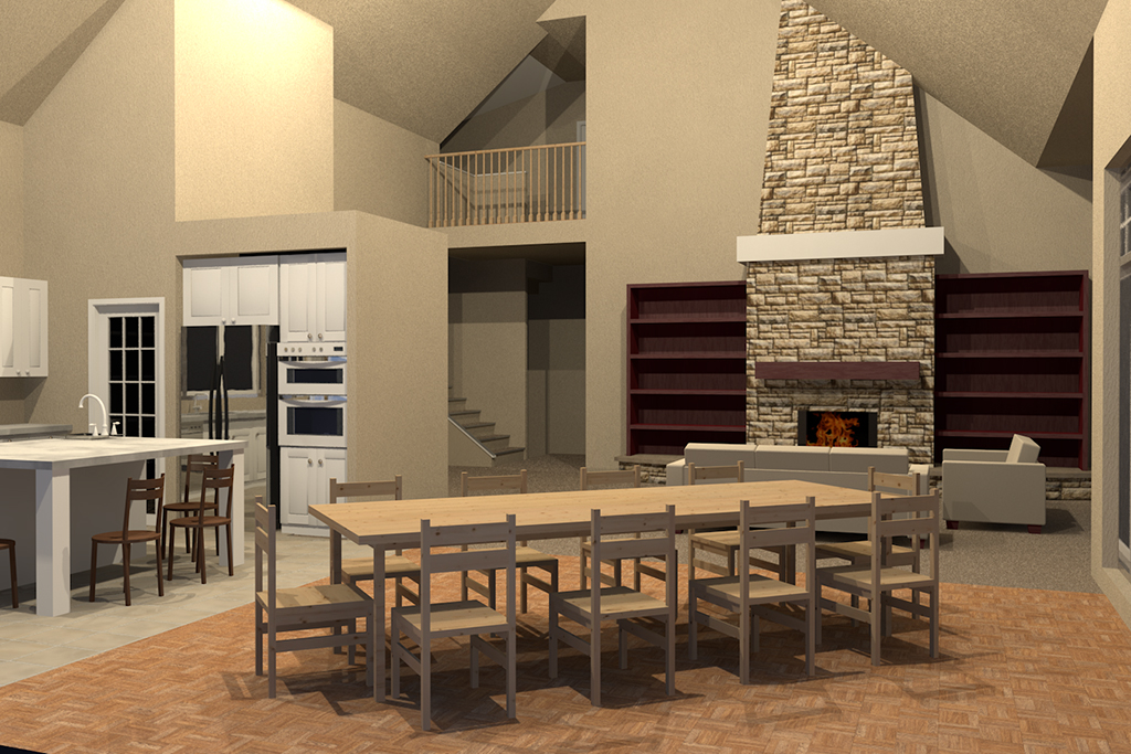 New home plan for Structural interior design