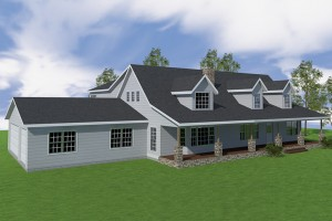 home remodel, 3d rendering, home addition