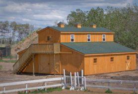 Teton Structures Modular Horse Barns