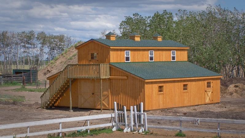 Teton Structures Modular Horse Barns King Engineering